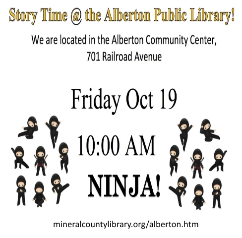 Alberton Library Branch Offers Storytime for Children on Fridays